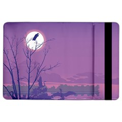 Abstract Tropical Birds Purple Sunset Ipad Air 2 Flip by WaltCurleeArt