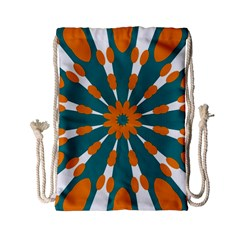 Tangerinerina Teliana Drawstring Bag (small) by CircusValleyMall