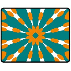 Tangerinerina Teliana Fleece Blanket (medium)  by CircusValleyMall