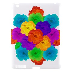Flowes Collage Ornament Apple Ipad 3/4 Hardshell Case (compatible With Smart Cover) by dflcprints