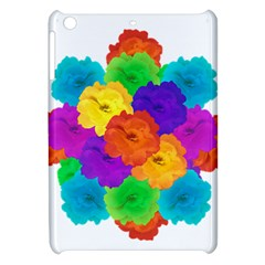 Flowes Collage Ornament Apple Ipad Mini Hardshell Case by dflcprints
