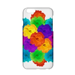Flowes Collage Ornament Apple Iphone 6/6s Hardshell Case by dflcprints