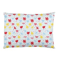 Seamless Colorful Flowers Pattern Pillow Case (two Sides)