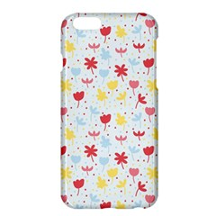 Seamless Colorful Flowers Pattern Apple Iphone 6 Plus/6s Plus Hardshell Case