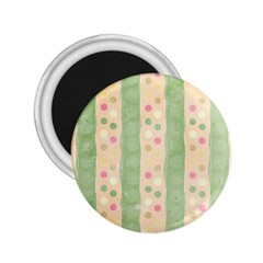 Seamless Colorful Dotted Pattern 2 25  Magnets