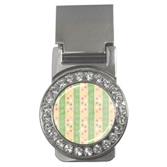 Seamless Colorful Dotted Pattern Money Clips (cz)