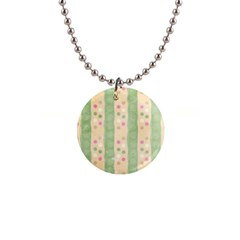 Seamless Colorful Dotted Pattern Button Necklaces