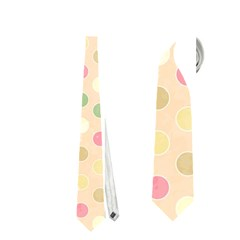 Seamless Colorful Dotted Pattern Neckties (two Side)