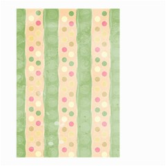 Seamless Colorful Dotted Pattern Small Garden Flag (two Sides)