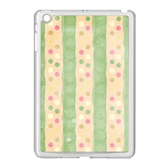 Seamless Colorful Dotted Pattern Apple Ipad Mini Case (white) by TastefulDesigns