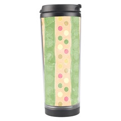 Seamless Colorful Dotted Pattern Travel Tumbler