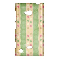 Seamless Colorful Dotted Pattern Nokia Lumia 720 by TastefulDesigns