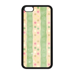 Seamless Colorful Dotted Pattern Apple Iphone 5c Seamless Case (black) by TastefulDesigns