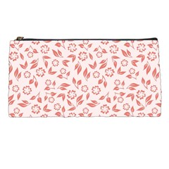 Red Seamless Floral Pattern Pencil Cases by TastefulDesigns