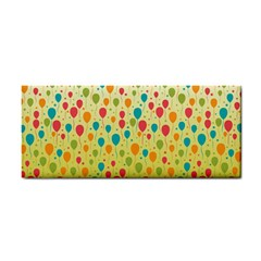 Colorful Balloons Backlground Hand Towel