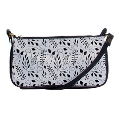 Hand Painted Floral Pattern Shoulder Clutch Bags