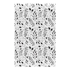 Hand Painted Floral Pattern Shower Curtain 48  X 72  (small)  by TastefulDesigns