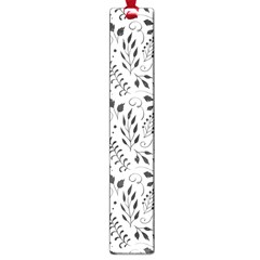 Hand Painted Floral Pattern Large Book Marks