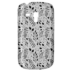 Hand Painted Floral Pattern Samsung Galaxy S3 Mini I8190 Hardshell Case by TastefulDesigns