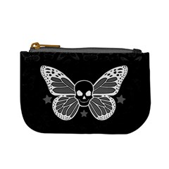 Butterfly Skull Coin Change Purse by Ellador