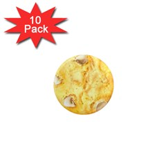 White Chocolate Chip Lemon Cookie Novelty 1  Mini Magnet (10 Pack)  by WaltCurleeArt