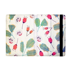 Hand Drawn Flowers Background Apple Ipad Mini Flip Case