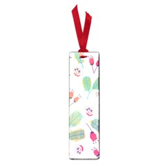 Hand Drawn Flowers Background Small Book Marks