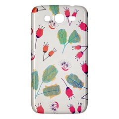 Hand Drawn Flowers Background Samsung Galaxy Mega 5 8 I9152 Hardshell Case  by TastefulDesigns