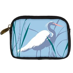 Egret Digital Camera Cases by WaltCurleeArt