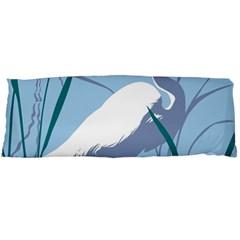 Egret Body Pillow Case (dakimakura) by WaltCurleeArt