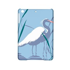 Egret Ipad Mini 2 Hardshell Cases by WaltCurleeArt