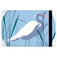 Egret Ipad Air Flip by WaltCurleeArt