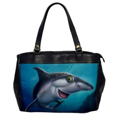 Sharky Office Handbags by WaltCurleeArt