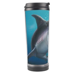Sharky Travel Tumbler by WaltCurleeArt