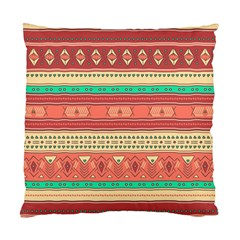 Hand Drawn Ethnic Shapes Pattern Standard Cushion Case (two Sides) by TastefulDesigns