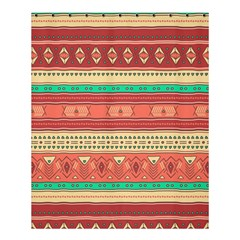 Hand Drawn Ethnic Shapes Pattern Shower Curtain 60  X 72  (medium)
