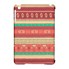 Hand Drawn Ethnic Shapes Pattern Apple Ipad Mini Hardshell Case (compatible With Smart Cover) by TastefulDesigns