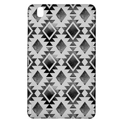Hand Painted Black Ethnic Pattern Samsung Galaxy Tab Pro 8 4 Hardshell Case by TastefulDesigns