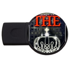 The King Usb Flash Drive Round (4 Gb)  by SugaPlumsEmporium