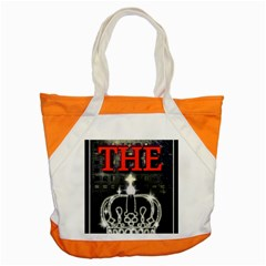 The King Accent Tote Bag by SugaPlumsEmporium