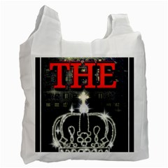 The King Recycle Bag (two Side)  by SugaPlumsEmporium