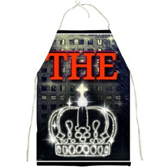 The King Full Print Aprons by SugaPlumsEmporium