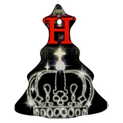 The King Christmas Tree Ornament (2 Sides) by SugaPlumsEmporium