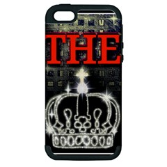 The King Apple Iphone 5 Hardshell Case (pc+silicone) by SugaPlumsEmporium