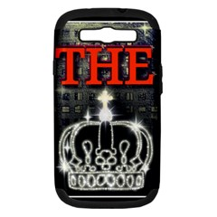 The King Samsung Galaxy S Iii Hardshell Case (pc+silicone) by SugaPlumsEmporium