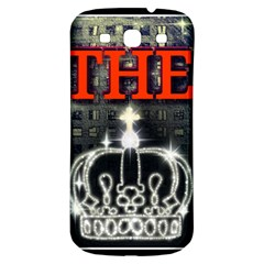 The King Samsung Galaxy S3 S Iii Classic Hardshell Back Case by SugaPlumsEmporium