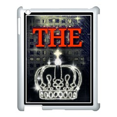 The King Apple Ipad 3/4 Case (white) by SugaPlumsEmporium