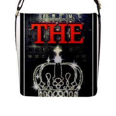 The King Flap Messenger Bag (l)  by SugaPlumsEmporium
