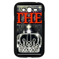 The King Samsung Galaxy Grand Duos I9082 Case (black) by SugaPlumsEmporium