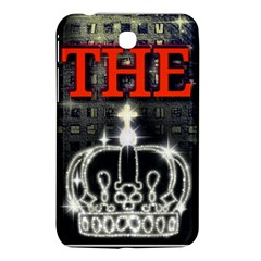 The King Samsung Galaxy Tab 3 (7 ) P3200 Hardshell Case  by SugaPlumsEmporium